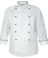 RB Long Sleeve Chef Jacket RB Long Sleeve Chef Jacket White 20