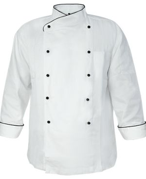 RB Long Sleeve Chef Jacket RB Long Sleeve Chef Jacket White 2.0 1 013307803